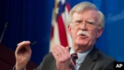 جان بولتون مشاور امنیت ملی رئیس جمهوری ایالات متحده - آرشیو