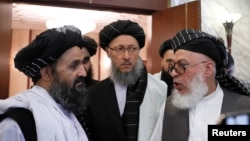 ملا ہیبت اللہ اخونزادہ نے کہا ہے کہ ہمیں امریکہ کے ارادوں پر خدشات ہیں۔ امریکی فوج اور سیاسی رہنماؤں کے بدلتے بیانات غیر یقینی کی صورتِ حال پیدا کر رہے ہیں۔ (فائل فوٹو)