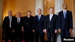 Le président américain Barack Obama pose avec des dirigeants nordiques à la Maison Blanche à Washington, États-Unis, le 13 mai 2016. (Reuters/Kevin Lamarque)