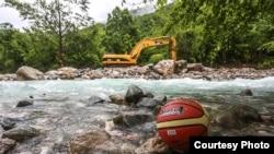 Mjesto na kojem bivši košarkaški as Mirza Teletović pravi hidroelektranu