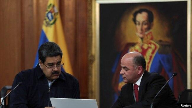 Ông Maduro đang đối mặt sức ép từ các nước láng giềng trong khu vực