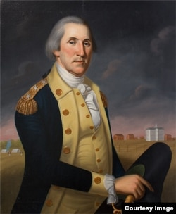 A portrait of George Washington