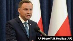 Poljaski predsednik Andžej Duda