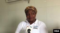 Cecilia Mateus, directora municipal de Saúde no Cacuso
