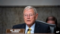 Senate Armed Services Chairman James Inhofe