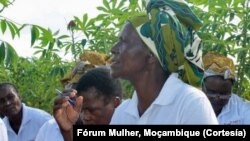 Rebeca Mabui, Coordenadora Fórum das Mulheres Rurais de Moçambique