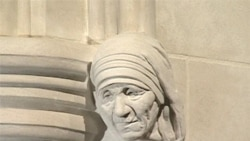 Mother Teresa Added to National Cathedral Human Rights Porch