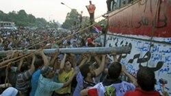 حمله هزاران نفر از مردم مصر به ساختمان سفارت اسرائیل در قاهره، نهم سپتامبر ۲۰۱۱