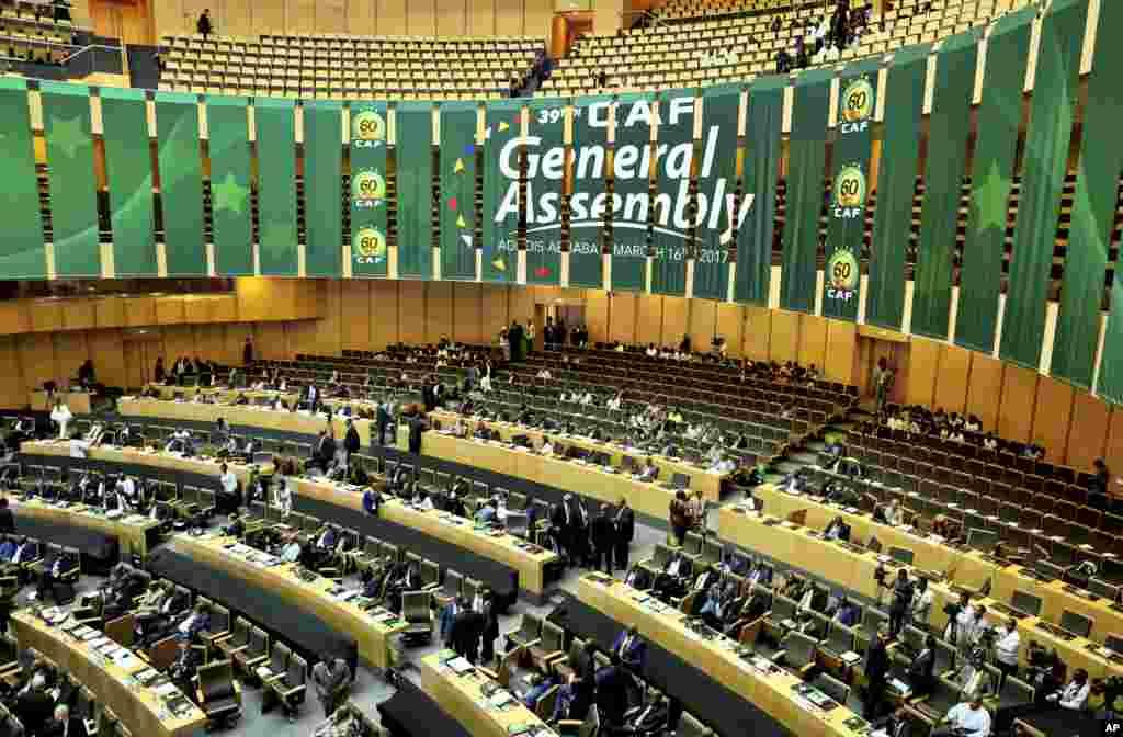 L'assemblée générale de la Confédération africaine de football (CAF) se tiendra à Addis-Abeba, en Ethiopie, le 16 mars 2017.