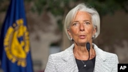 International Monetary Fund (IMF) Managing Director Christine Lagarde, April 30, 2014.