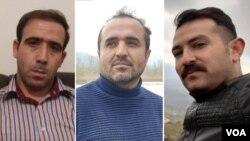 Həmid Mənafi, Behnam Şeyxi və Kiyanuş Aslani