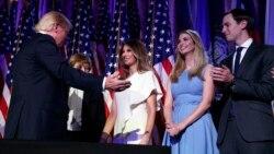 သားမက္ျဖစ္သူကို အႀကီးတန္းအႀကံေပးခန္႔မယ့္ သမၼတ အေရြးခံ Trump