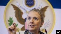 Хиллари Клинтон в Дании