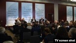 Učesnici Transatlantskog foruma u Centru za strateške i međunarodne studije u Vašingtonu