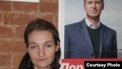 Полина Костылева - руководитель штаба А. Навального в СПб