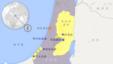 以色列、加沙、约旦河西岸诸城市地图