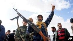 리비아의 반정부 시위대