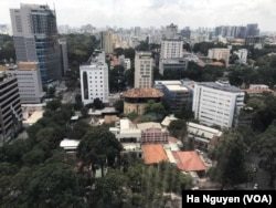 FILE - The Ho Chi Minh City skyline is rapidly changing as Vietnam enjoys some of the highest economic growth rates in the world.