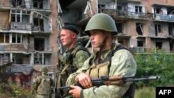 Російські солдати на Кавказі
