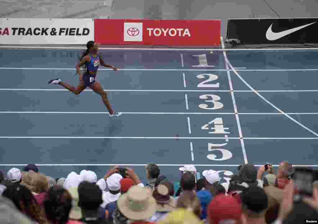 ریس جیتنے کے بعد 29 سالہ ڈیلائیلا محمد نے کہا کہ انہیں خود یقین نہیں آ رہا ہے کہ انہوں نے نیا عالمی ریکارڈ بنا کر یہ مقابلہ جیتا ہے۔