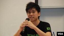 香港學聯副秘書長岑敖暉表示,香港公民社會必須團結爭取真普選