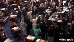 美國國會討論移民改革法案會場