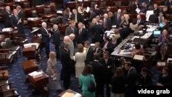 美国国会讨论移民改革法案会场