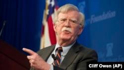 Milliy xavfsizlik bo'yicha AQSh prezidenti maslahatchisi Jon Bolton