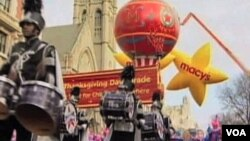 Marching bands, clowns, giant balloons and elaborate floats will participate in Macy's 86th Thanksgiving parade this year.