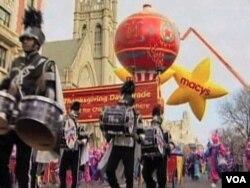 梅西百货公司在纽约举行节日游行