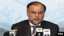 وفاقی وزیر برائے ترقی و منصوبہ بندی احسن اقبال ( فائل فوٹو )