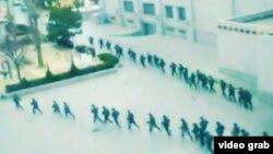 軍警在西藏開展鎮壓行動