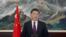 2016年12月31日,中国国家主席习近平发表电视新年贺词。(网络截图)