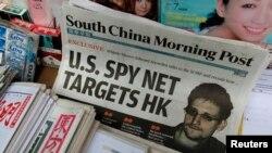 Ộng Edward Snowden nói với tờ South China Morning Post ở Hồng Kông rằng Cơ quan An ninh Quốc gia Hoa Kỳ đã theo dõi những hoạt động viễn thông bên trong Trung Quốc.