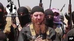 Omar al-Shishani được mô tả là 'bộ trưởng chiến tranh' của IS. (Ảnh tư liệu)