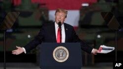 پرزیدنت ترامپ روز پنجشنبه اعلام کرد آمریکا بلندیهای جولان را به عنوان بخشی از اسرائیل به رسمیت میشناسد