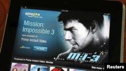 Aplikasi pemutaran video Amazon untuk iPad keluaran Apple.