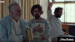 تین حقیقی کرداروں پر بننے والی ایک نفسیاتی فلم کا ایک مںظر