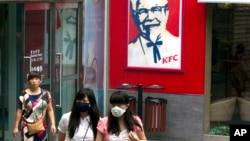 中国北京的一家肯德基