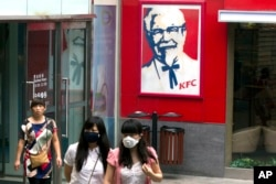 中国北京的一家肯德基餐厅