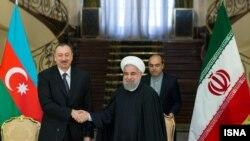 روسای جمهوری ایران و آذربایجان امروز در تهران دیدار کردند.