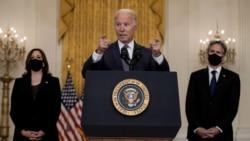 拜登誓言把在阿富汗的美國人帶回國