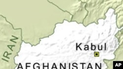 Map of Kabul, Afghanistan