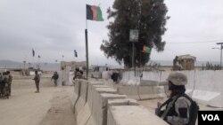 À la frontière entre le Pakistan et l'Afghanistan, le 22 février 2017.