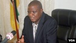 Castro Sanfins Namuaca, presidente do Conselho Municipal de Nampula (VOA / Faizal Ibramugi)