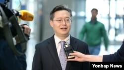한국 측 북핵 6자회담 수석대표인 황준국 외교부 한반도평화교섭본부장. (자료사진)