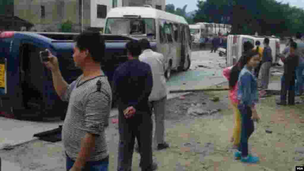 阳春市春湾镇自由管理区村民连续多日抗议