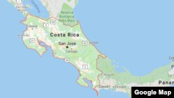 Peta Costa Rica