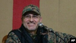 Komndant Hezbolaha Mustafa Badredin