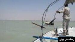 عکسی که رسانههای ایران از سقوط این هواپیما منتشر کردند.